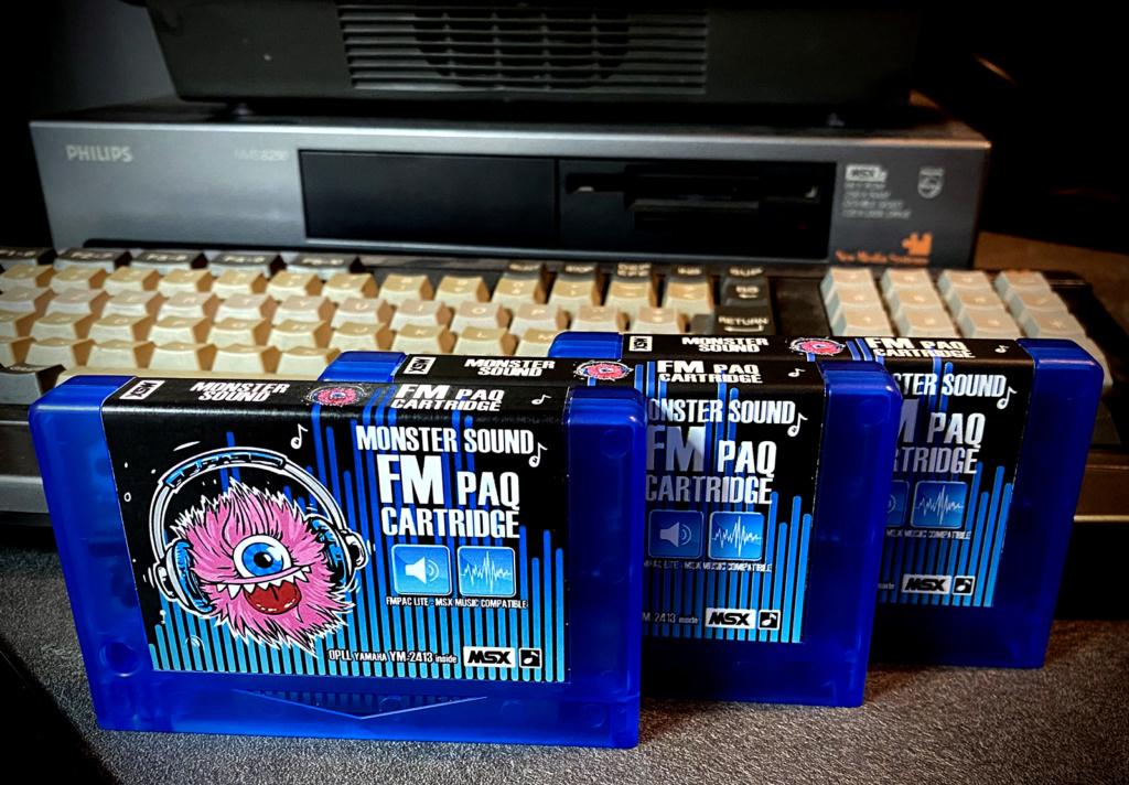[VDS] pour MSX Cartouches FM PAK Lite - Blue Edition Img_5110