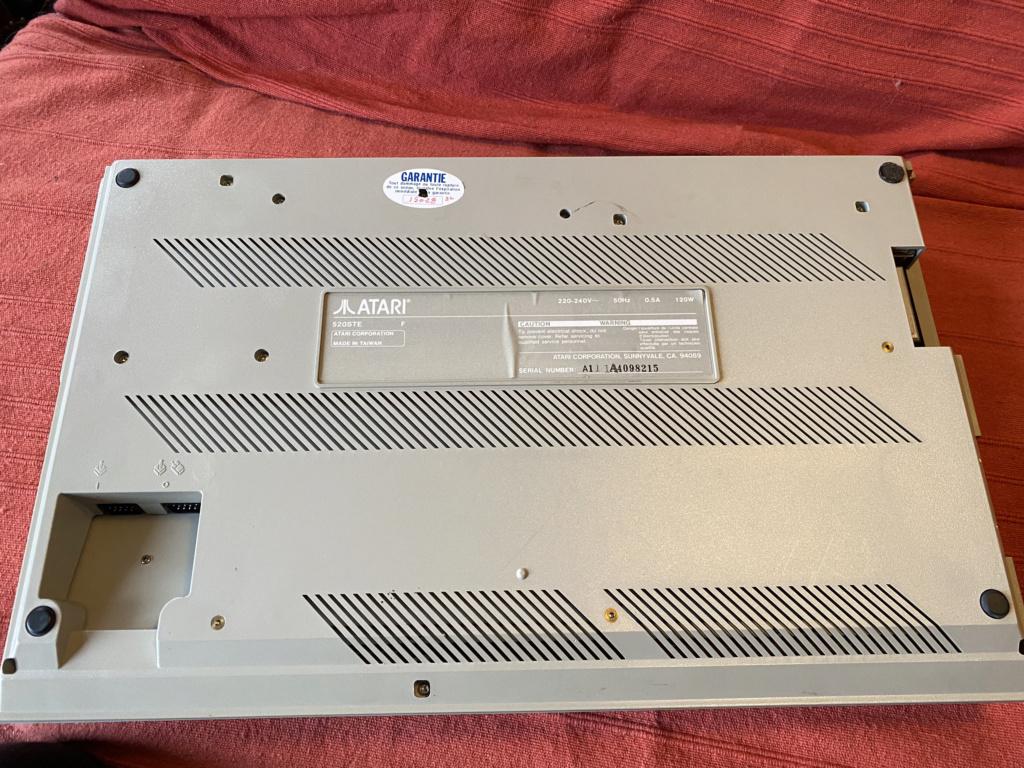 [Vendu] ATARI 512 STE - 4mo - Power Pack Img_5515