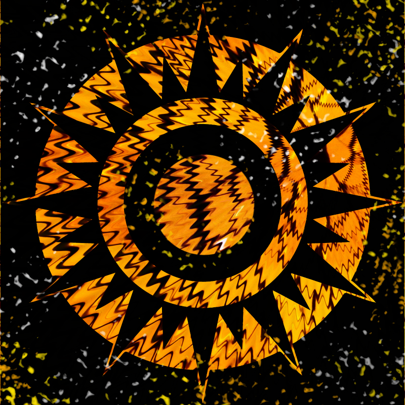 Puzzle #0429 / Abstract Sun by Mimosa Abstra12