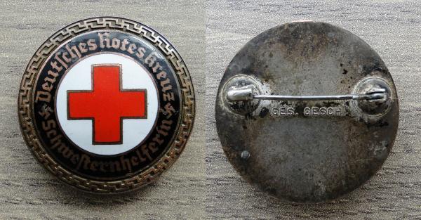 insigne DRK Auxilliare 43639412