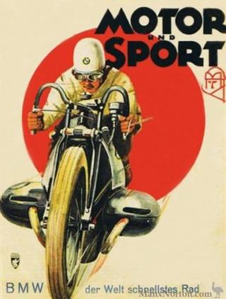 Histoire de la moto. Bmw-1910