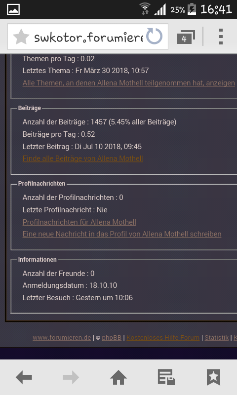 Anzeige Spinnt  Screen10