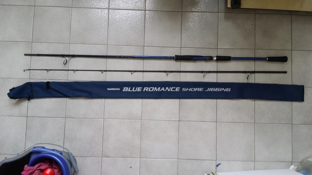 [Vendo usata] Shimano Blue Romance Shore jigging  20210410