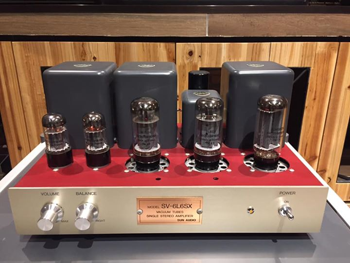 Sun Audio SV-6L6SX Int Tube Amp (SOLD) 59375710