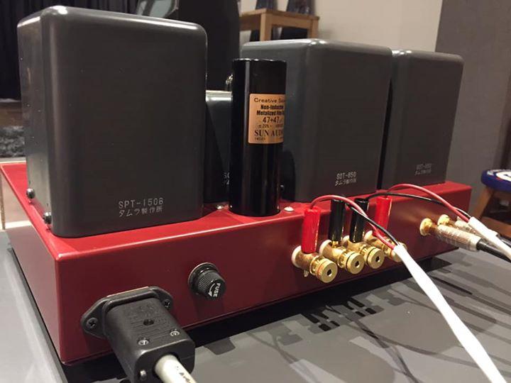 Sun Audio SV-6L6SX Int Tube Amp (SOLD) 59739610
