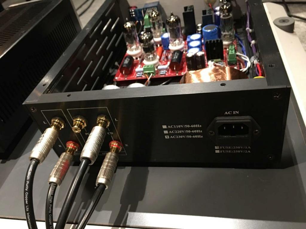 ST Audio tube pre-amplifier _catsl11