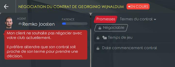 Wijnaldum contrat arrivant à expiration en juin 2021 0539