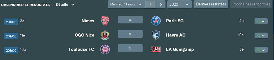 Match en retard/Avancé avant Mercredi 12h 143