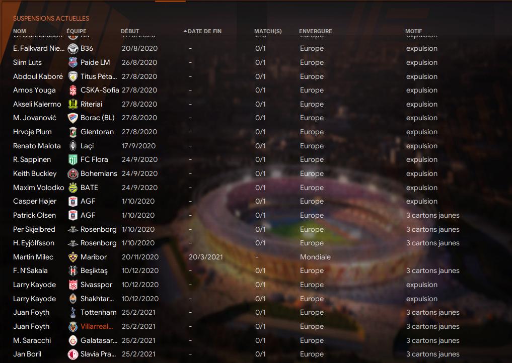 Match ALLER 2ème Tour à élimination directe avant MArdi 12h 3473
