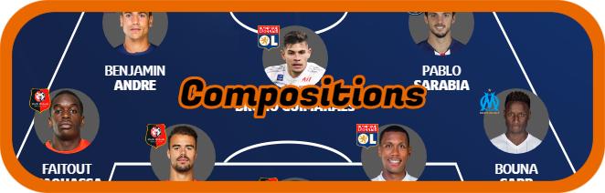 AS Monaco  - Paris SG avant dimanche 12h Compos96
