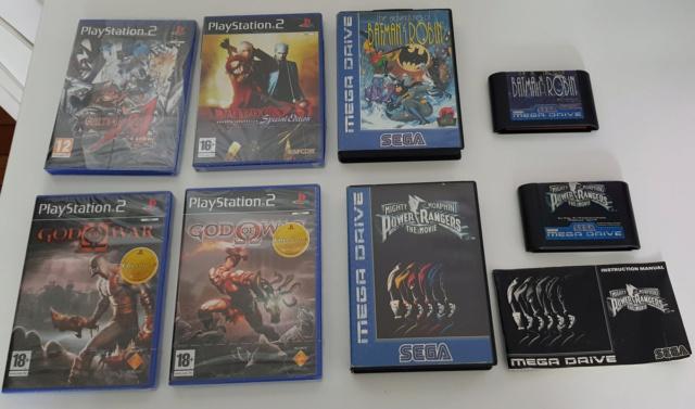 Jeux MD et quelques blist PS2 20200714