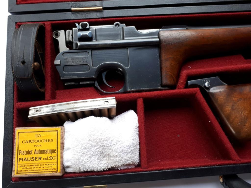 Une très rare carabine Mauser C 96... - Page 4 20191212