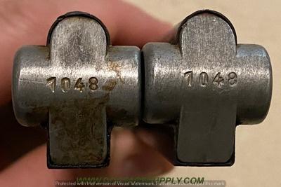Réflexions sur la production de pistolets Luger P 08, par Mauser, en 1945-1946. - Page 6 210