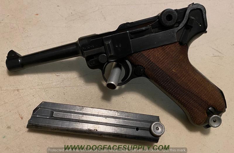 Réflexions sur la production de pistolets Luger, par Mauser, en 1945-1946. - Page 6 410