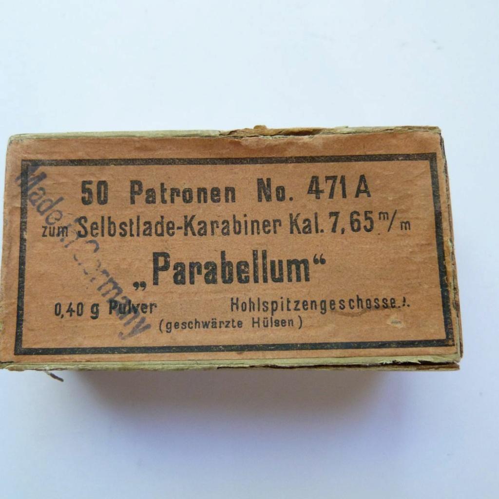 RECHARGEMENT CARTOUCHE POUR CARABINE LUGER MODELE 1902 Boite_19