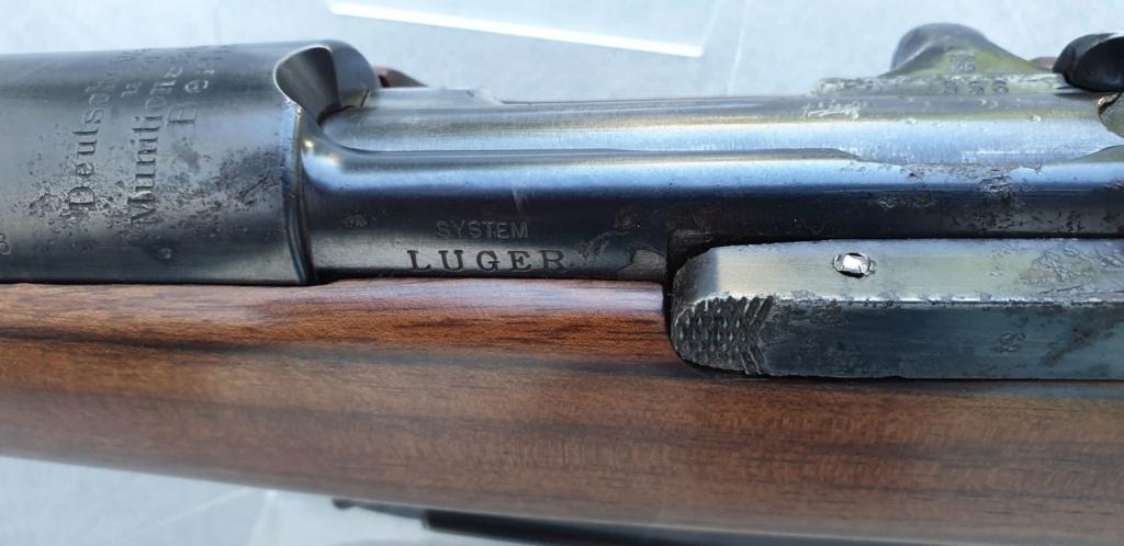 Une carabine prototype en 8 X 57, à verrou de Georges Luger... Carabi15