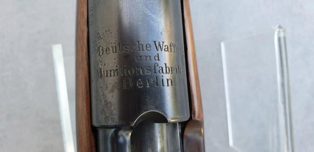 Une carabine prototype en 8 X 57, à verrou de Georges Luger... Carabi17