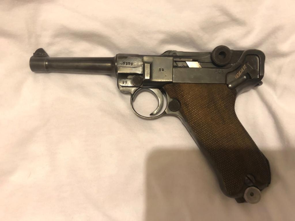 Réflexions sur la production de pistolets Luger P 08, par Mauser, en 1945-1946. - Page 5 Cid_5410