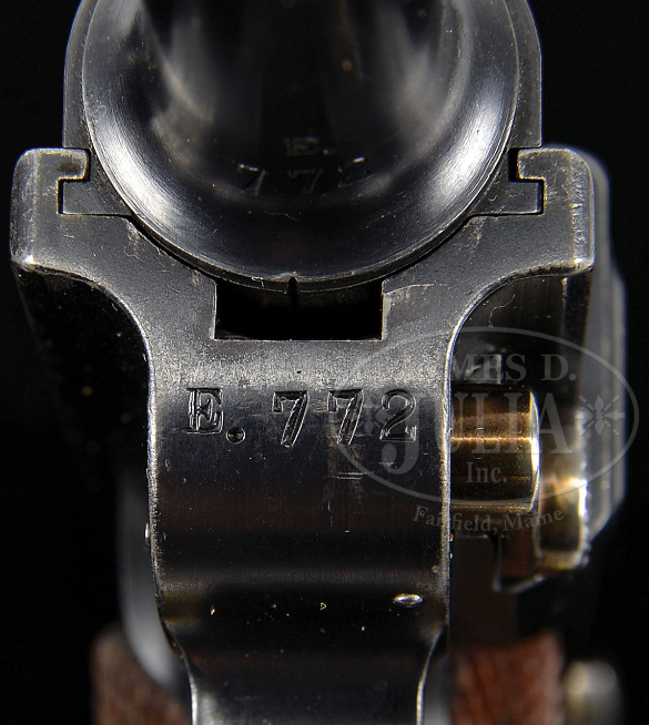 Parabellum Suisse P 00  ( et P 00 / 06 )  Séries E Dwm_1910