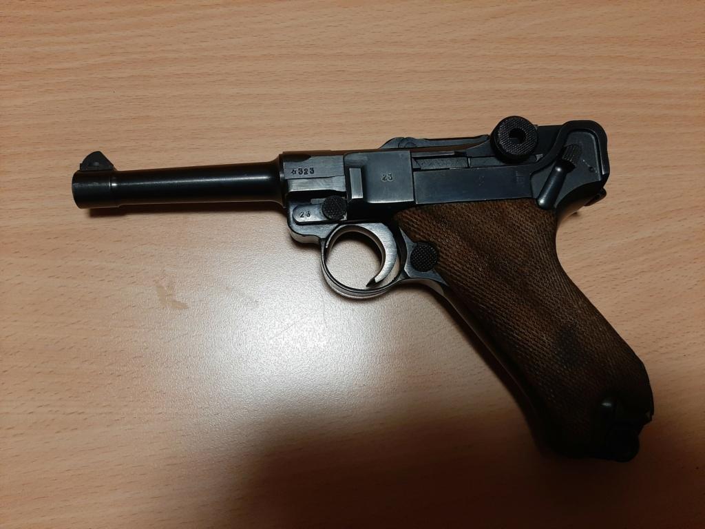 Réflexions sur la production de pistolets Luger P 08, par Mauser, en 1945-1946. - Page 5 F1_ges10