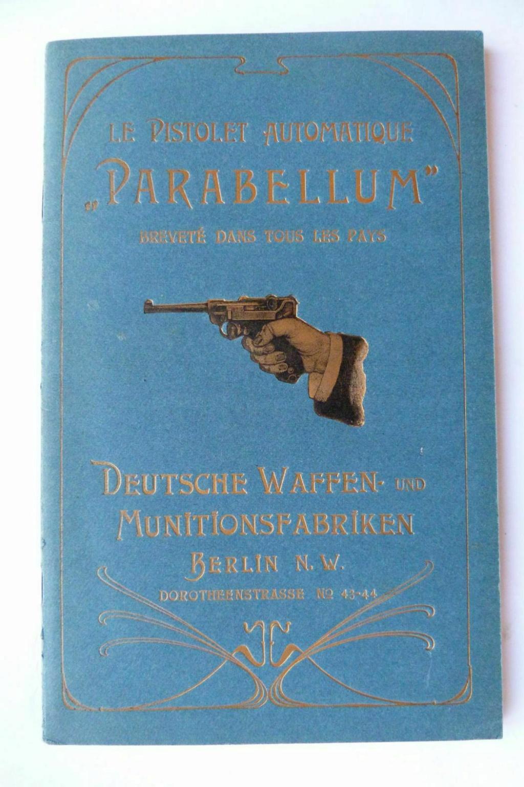 Livrets et manuels du Luger P08 et Parabellum - Page 2 Manuel25