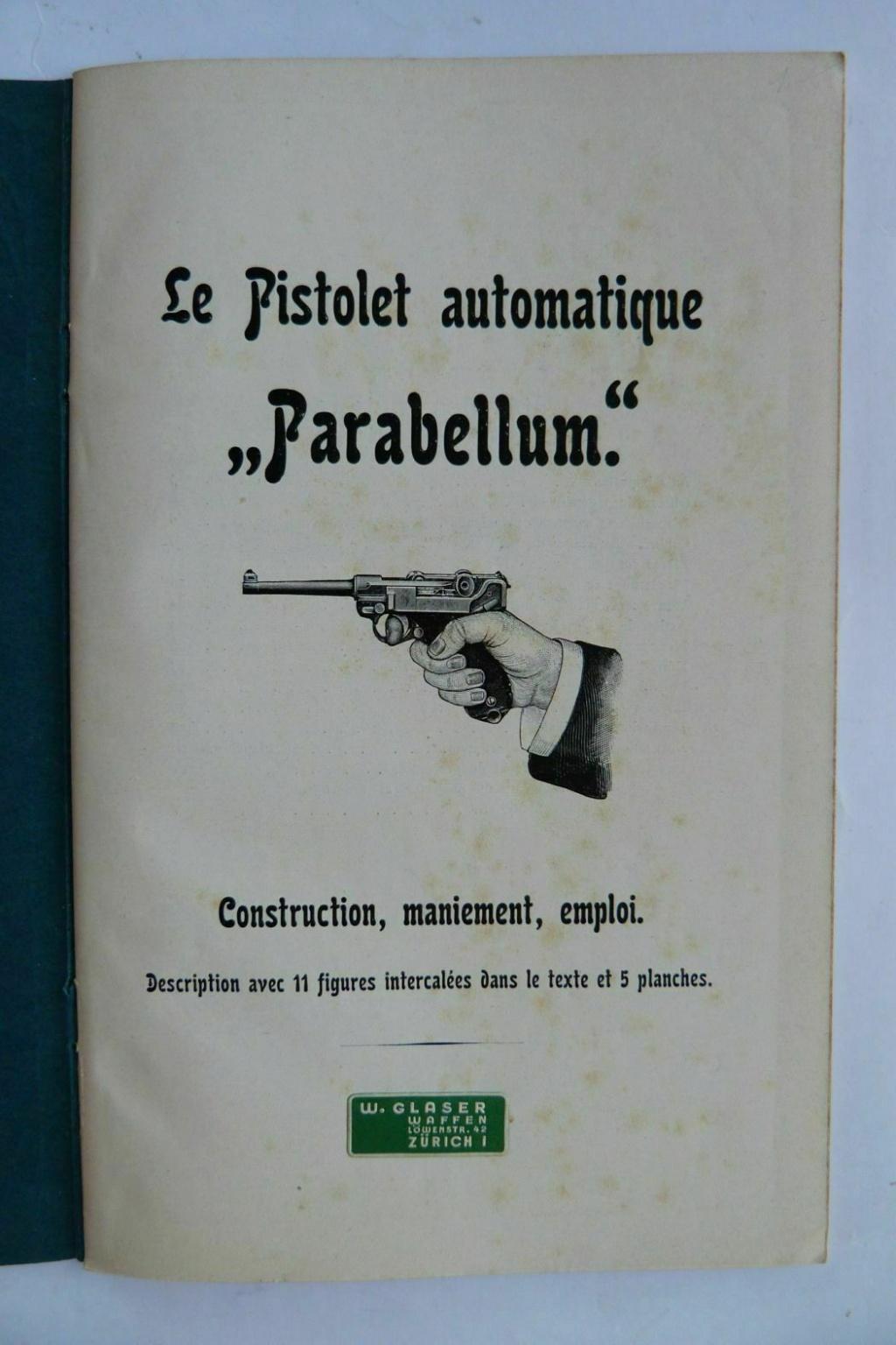 Livrets et manuels du Luger P08 et Parabellum - Page 2 Manuel26
