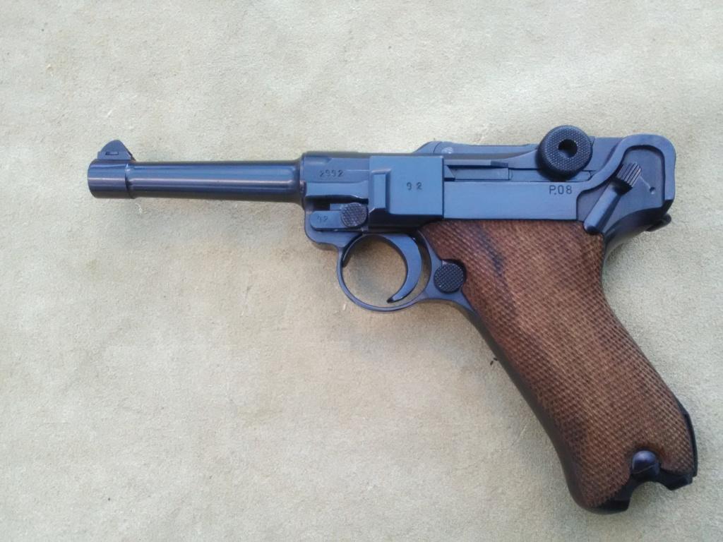 Un P 08 Mauser daté 42, fabriqué sous contrôle français. Mauser27