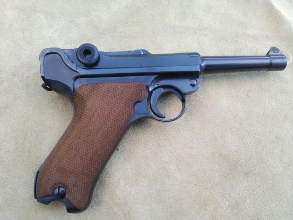Un P 08 Mauser daté 42, fabriqué sous contrôle français. Mauser28