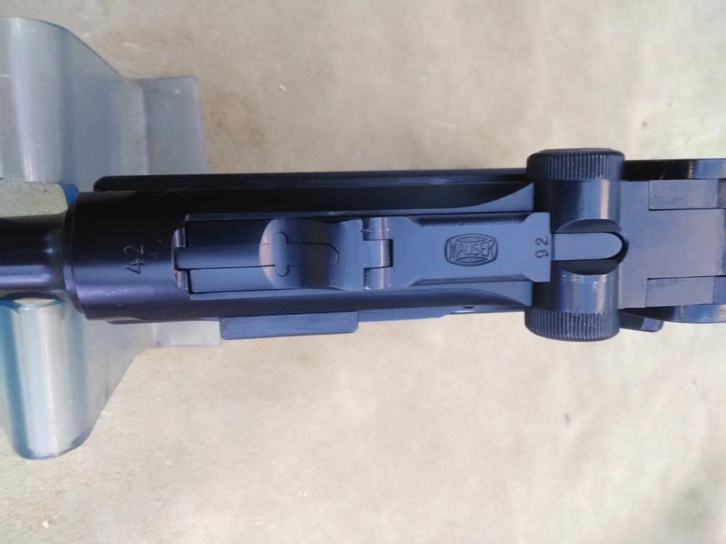 Un P 08 Mauser daté 42, fabriqué sous contrôle français. Mauser29