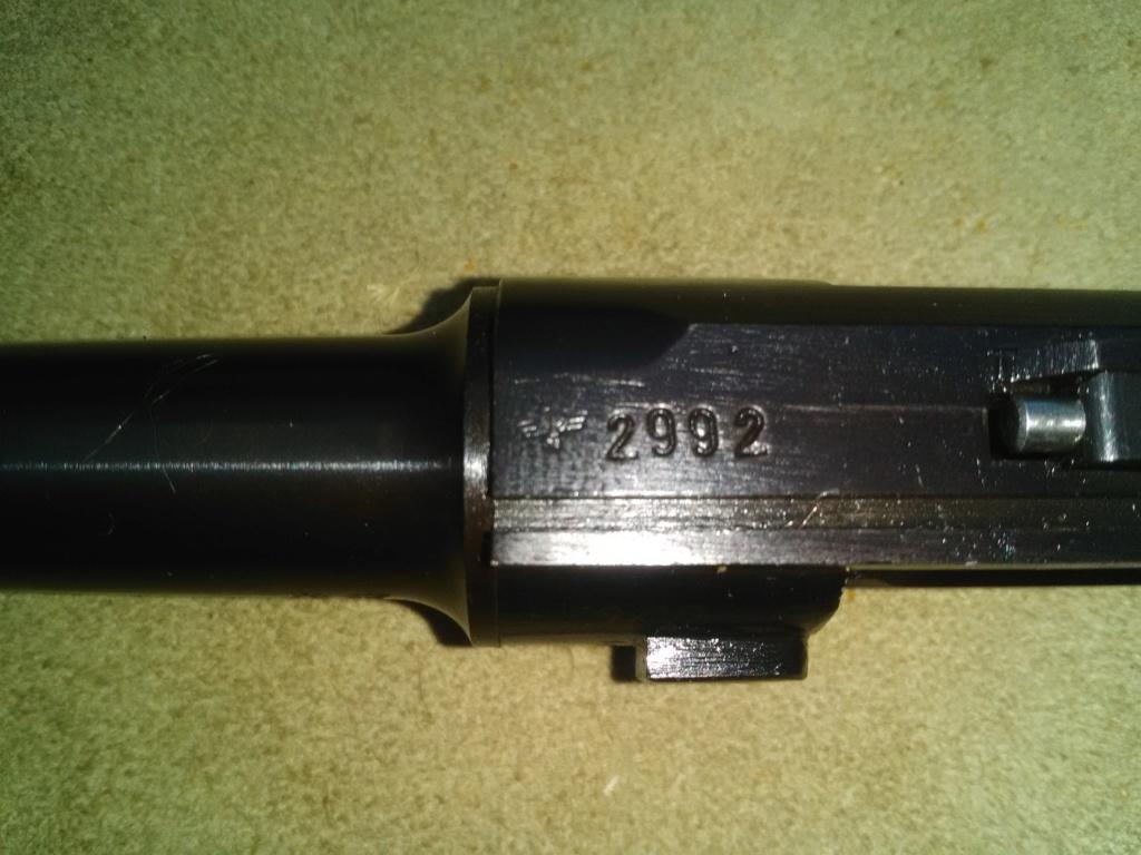 Un P 08 Mauser daté 42, fabriqué sous contrôle français. Mauser30