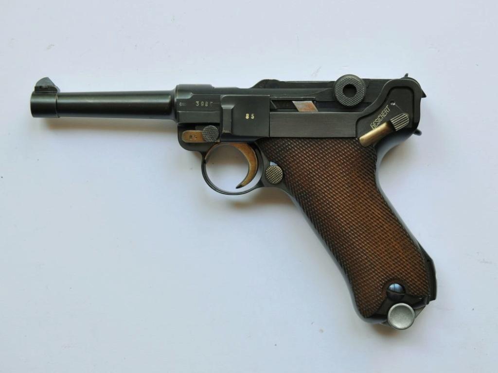 Les marquages des Luger commerciaux de 1900 à 1942. Mauser37