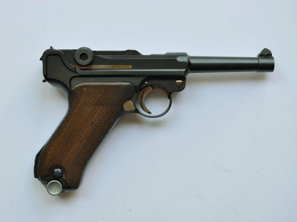 Les marquages des Luger commerciaux de 1900 à 1942. Mauser38