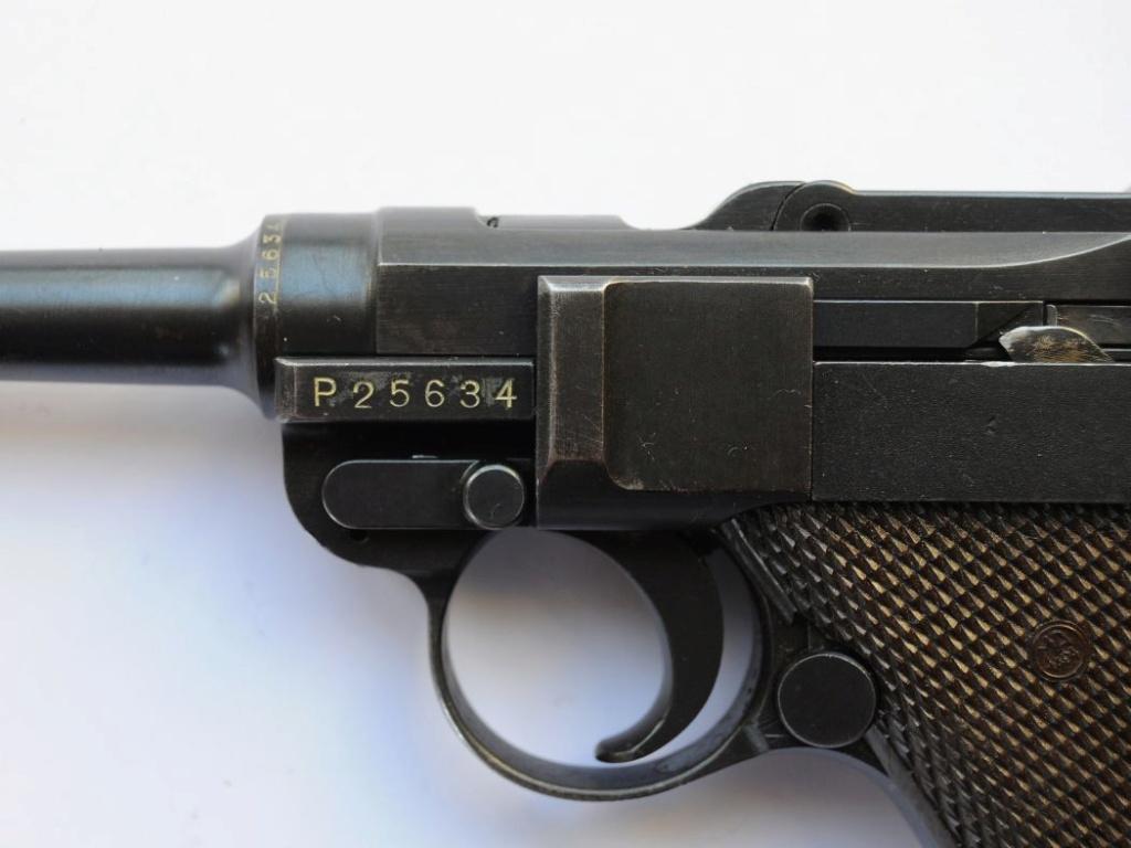 Les marquages des Luger commerciaux de 1900 à 1942. Waffen10