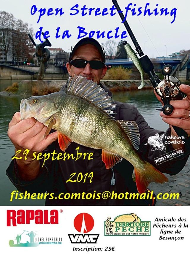 L 'Open streetfishing de la boucle (Besançon) Affich10