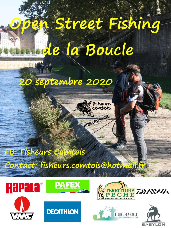 L 'Open streetfishing de la boucle (Besançon) Affich11