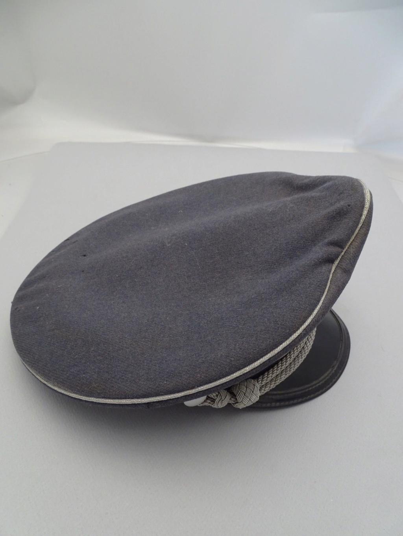Identification Casquette Officier Luftwaffe 08152612