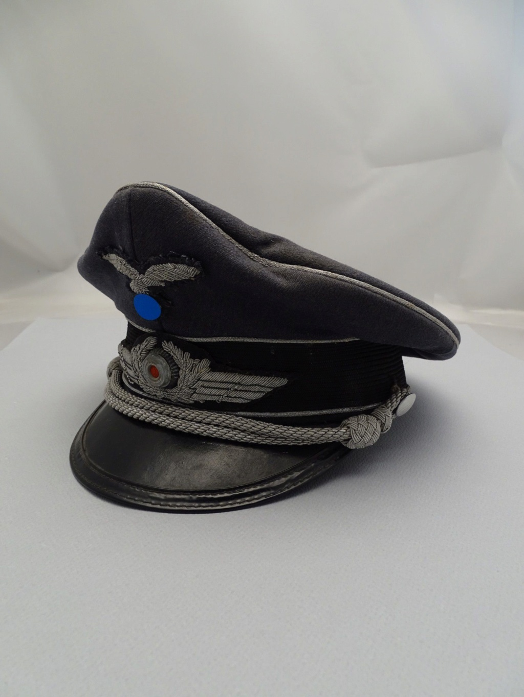 Identification Casquette Officier Luftwaffe 17354110