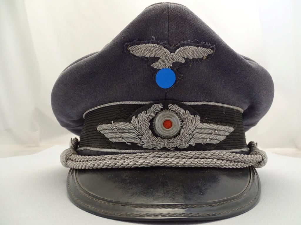 Identification Casquette Officier Luftwaffe 17355110