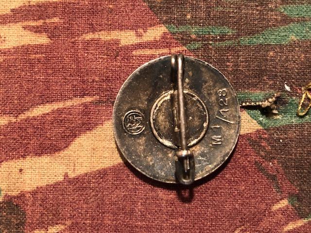 Authentification Infanterie Badge, NSDAP et Divers Img_1924