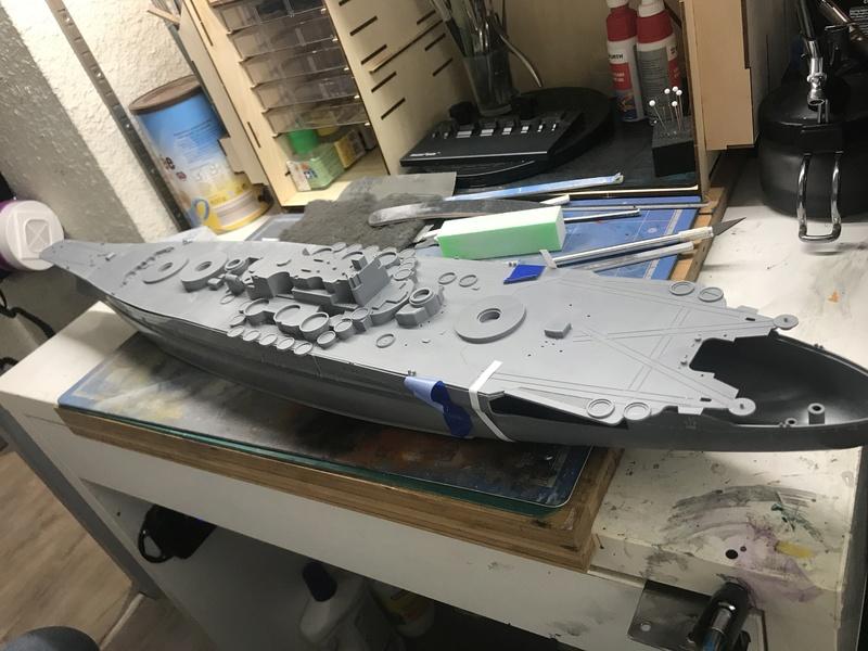 Yamato tamiya 1/350 up Fini le 15/08/2018 3fabf710