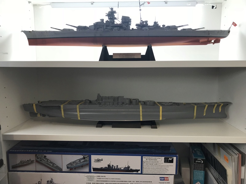 Yamato tamiya 1/350 up Fini le 15/08/2018 9338ac10