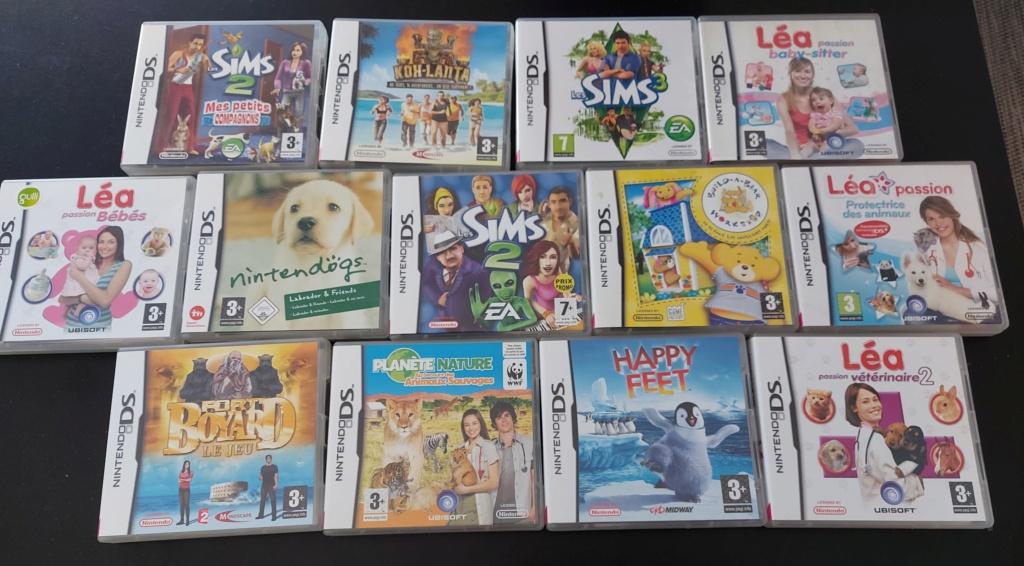 [Vds] Lot 13 jeux Nintendo DS pour enfants  20210310