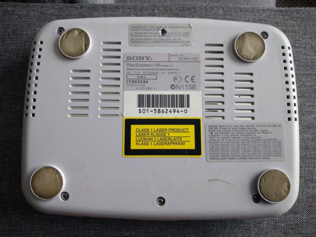 [Vds] Sony Psone loose + câbles et 1 manette pucée _2020017