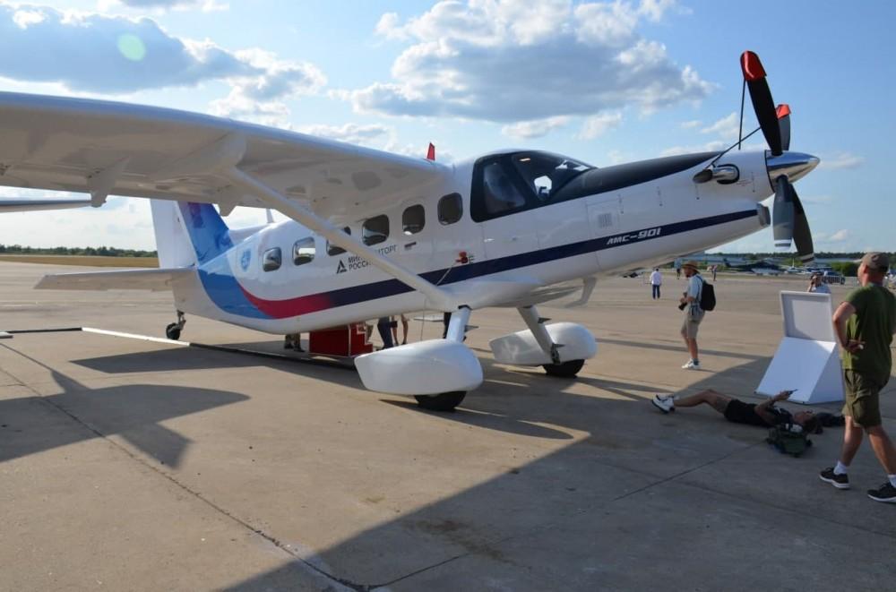 MAKS-2021 Air Show: Photos and News 1122