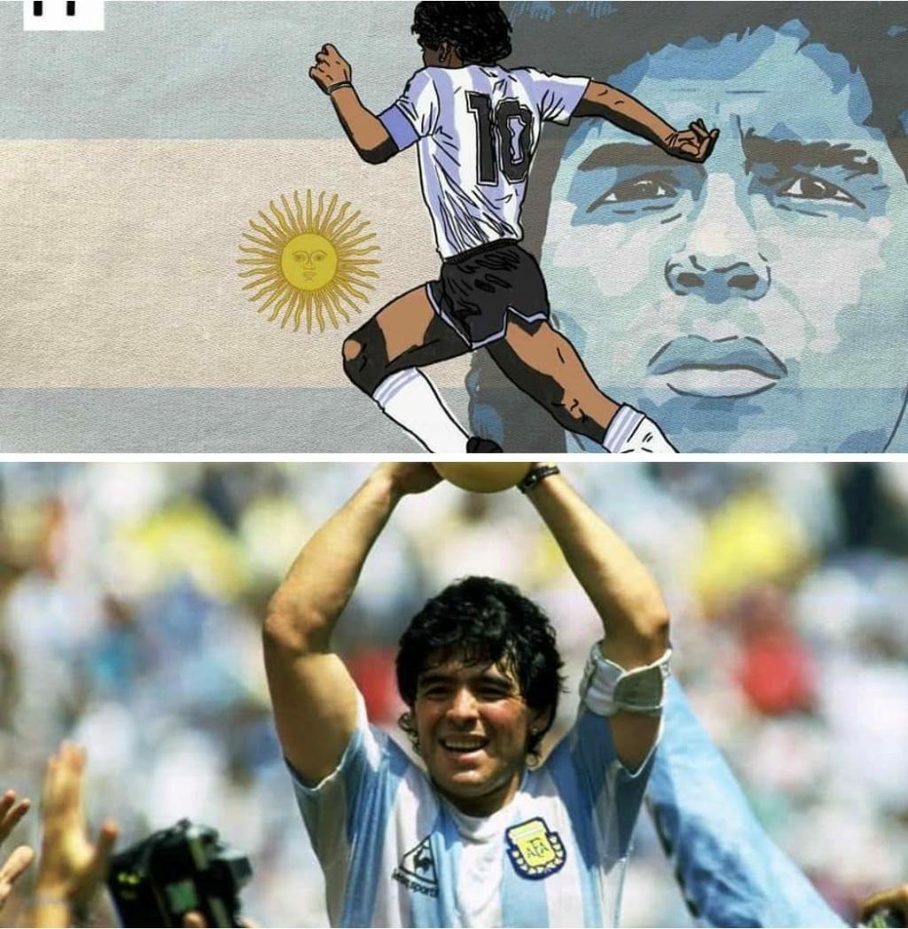 Diego Maradona dies at 60 following heart attack 12752810