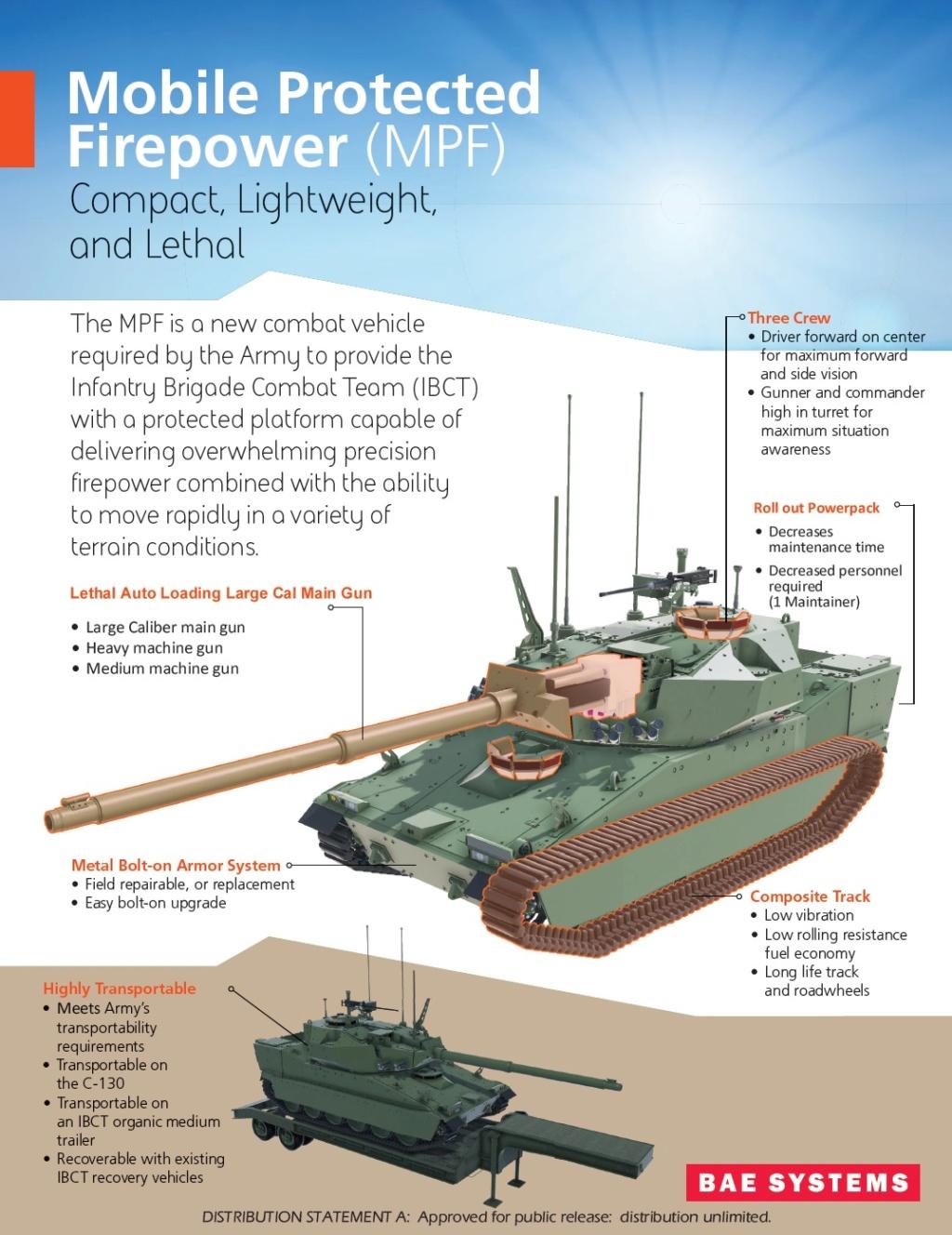 Mobile Protected Firepower (Light Tank) program 270