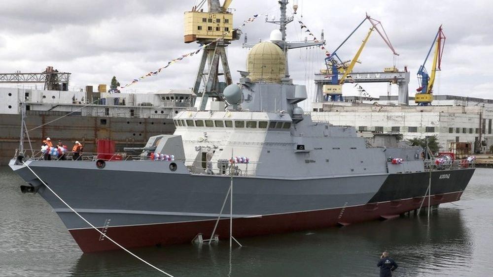 "Project 22800: ""Karakurt"" class missile ship #2 393"