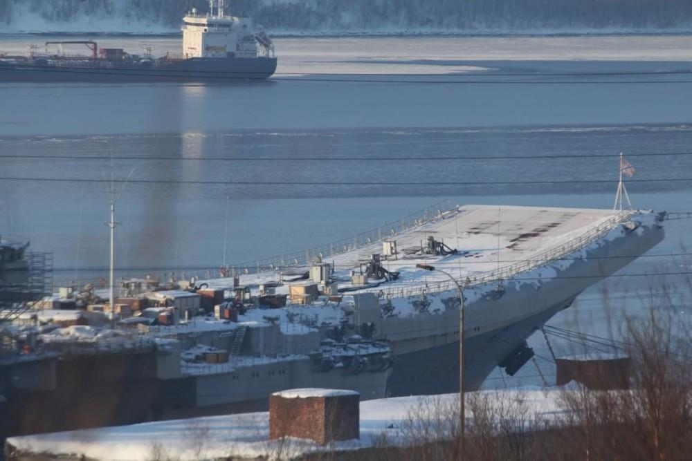 Aircraft Carrier Admiral Kuznetsov: News #2 - Page 33 43754910