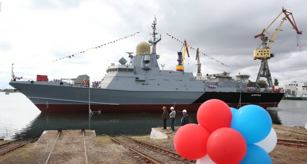 "Project 22800: ""Karakurt"" class missile ship #2 466"
