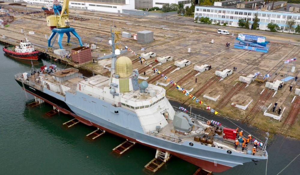 "Project 22800: ""Karakurt"" class missile ship #2 556"